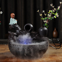 Керамика проточной водой украшения фонтан увлажнитель Гостиная украшения офиса свадебные подарки очистки воздуха увлажнитель