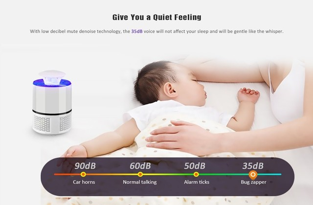 Mosquito-Killing Lamp Led Household Insect Repellent 10