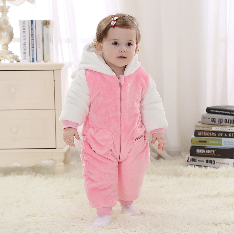 2017 Cartoon Figure Newborn Baby Romper Girls 100% Cotton Baby Jumpsuit Infant & Toddlers Overalls Winter Baby Clothes RL11-1 cotton baby rompers set newborn clothes baby clothing boys girls cartoon jumpsuits long sleeve overalls coveralls autumn winter