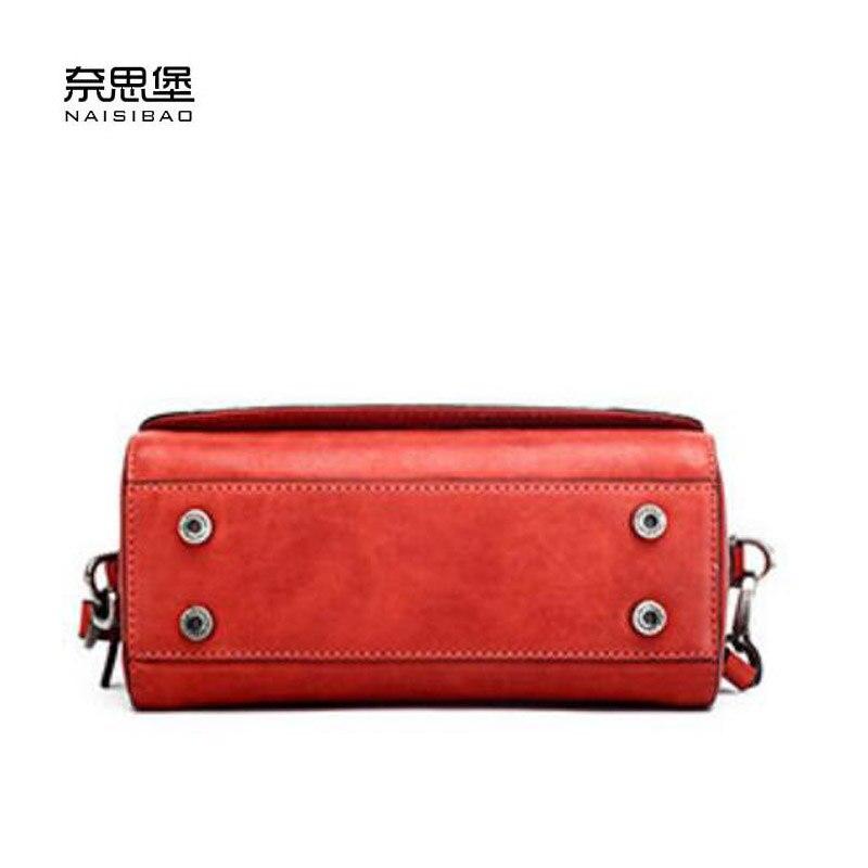 Rindlederbeutel black green Mode Leder designer Red Luxus Neue Handtaschenfrauen Frauen Echtes Tasche Schulter Umhängetasche blue wqvOH