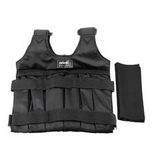 Weighted-Vest Adjustable Sand-Clothing Boxing Training Gym Max-Loading Waistcoat 20/50kg