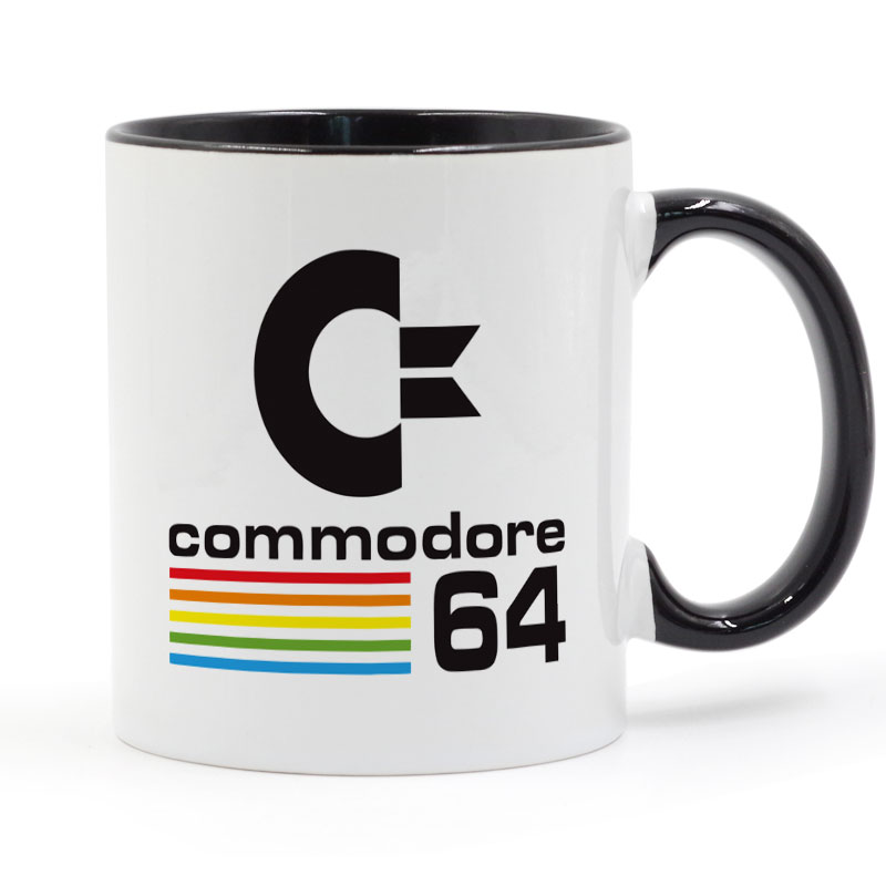 Commodore 64 кружка Кофе молоко Керамика чашки творческий DIY подарки Домашний Декор Кружки 11 унц. t1071