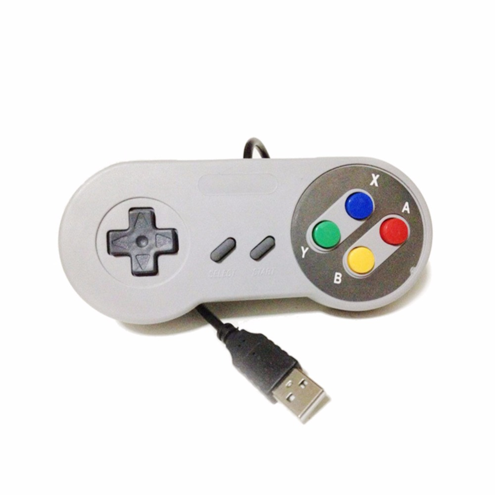 Portable USB Port Game Handle For Nintendo WII SNES Controller Classic Gamepad For PC Computer Laptop USB Gaming Joystick Handle