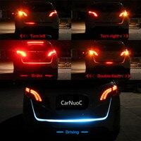 Flowing LED RGB Colorful Trunk Light For Skoda Octavia 2 A7 A5 A4 Vrs Fabia 2