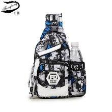 Женская дорожная нагрудная сумка FengDong, серая небольшая дорожная сумка через плечо с защитой от кражи, с отделением для бутылки с водой, осень 2019