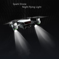 Drone Night Flight LED Light For Palm Flight Hand Finger Protection Board Cover Photography Spare Parts