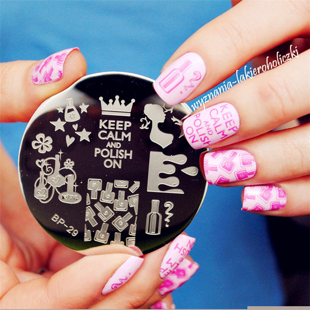 Born pretty nail stamping plates geo flower queen theme nail art born pretty nail stamping plates geo flower queen theme nail art stamp template image plate set prinsesfo Images