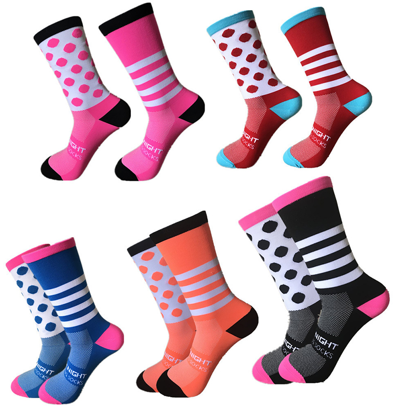 2019 Unisex Professional Brand Sport Socks Breathable Road Bicycle Socks Outdoor Sports Racing Cycling Socks Compression Socks