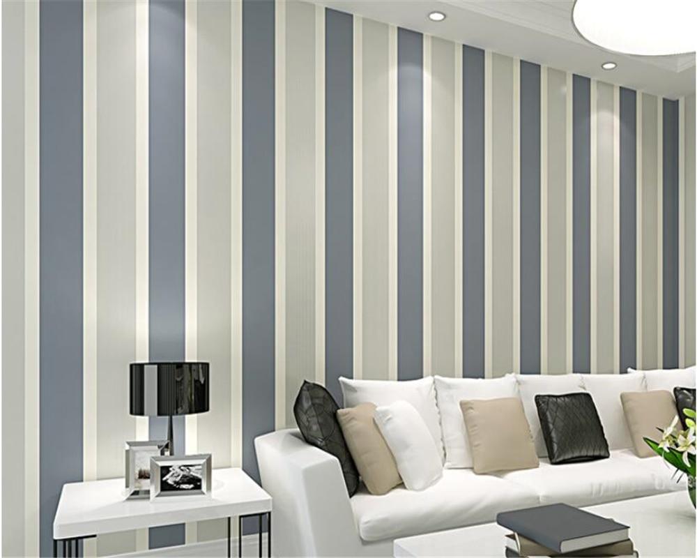 Design Behang Slaapkamer : Beibehang gekleurde d behang verticale strepen behang slaapkamer
