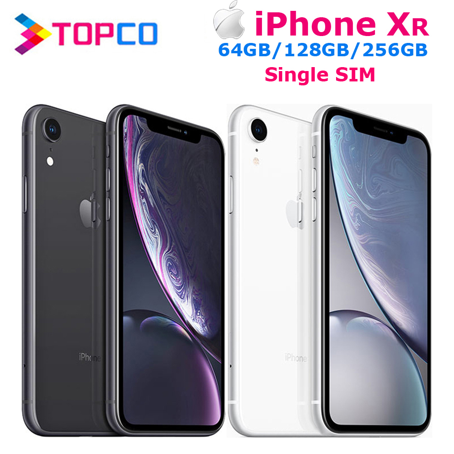 Apple IPhone XR Factory Unlocked Original Mobile Phone 4G LTE 6.1