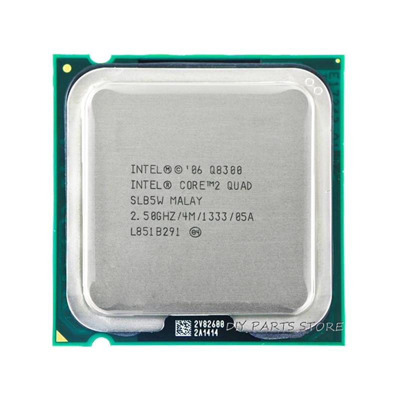 โปรเซสเซอร์ Intel Core 4 Core 2 Quad Q8200 CPU 2.3Ghz / 4M / 1333GHz) ซ็อกเก็ต LGA 775