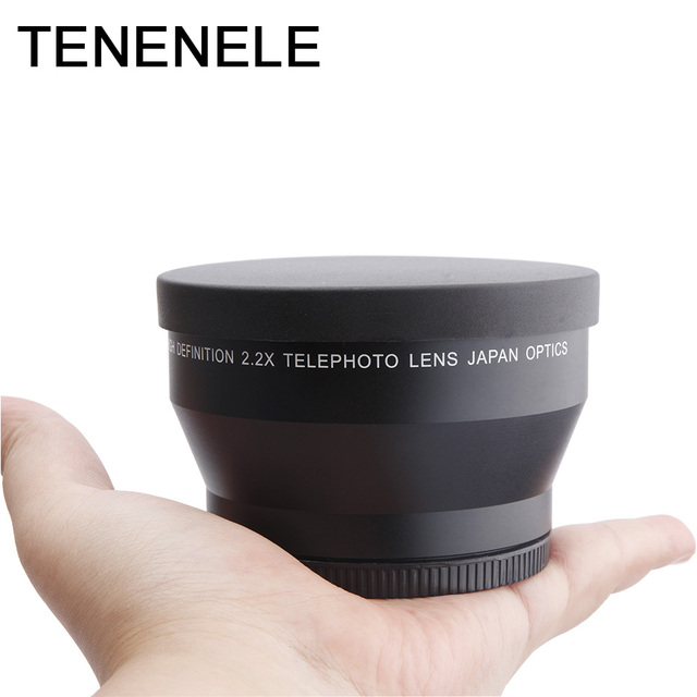 Camera Lens Telephoto Lens 2.2x 58 62 67 72 MM High Definition Optical Tele Lenses For Sony Nikon Canon Camera Lens Accessories