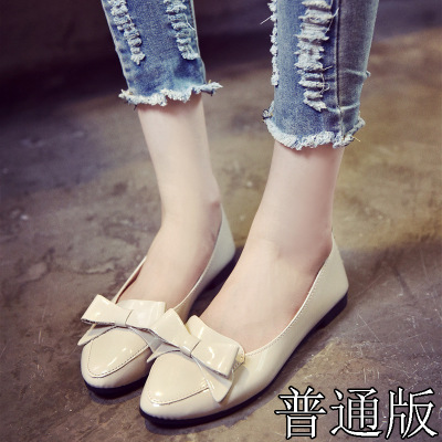 Designer Ladies shoes Pointed Toe Black Oxford spring PU leather flats shoes woman rubber chaussures femme lolita shoes women ladies flats vintage pu leather loafers pointed toe silver metal design