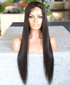 7A Unprocessed Malaysian Virgin Human Hair Lace Front Wig Straight Hair Glueless Full Lace Wig With Baby Hair For Black Women