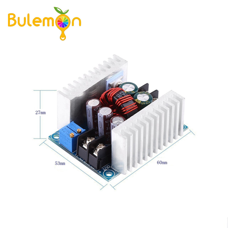 2pcs/lot 300W 20A Power Step Down Voltage Module DC-DC Buck Converter Module Constant Current LED Driver Electrolytic Capacitor