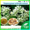 Best selling 10:1 Celastrol de Tripterygium wilfordii 34157-83-0 Deus do Trovão extrato Videira 400 g/lote