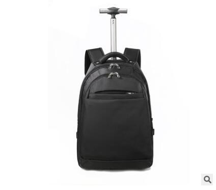 Men nylon Travel trolley Backpack bags Travel trolley Rolling bags Women wheeled Backpacks Business baggage suitcase on wheels travel luggage trolley backpacks on wheels men business travel trolley bags oxford rolling baggage backpack bag travel mochila