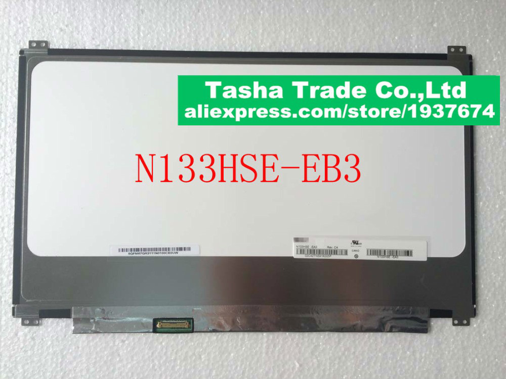 For ChiMei Innolux N133HSE EA3 N133HSE EB3 eDP Laptop LCD Screen 13 3 LED FHD IPS