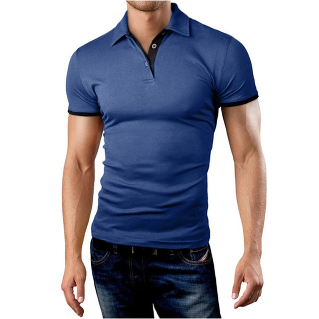 2bcf1712a2 2017 Mens Polo Shirt Slim Hooded Camisa Plus Size Mens Clothing Camisas  Polo Homme Short-