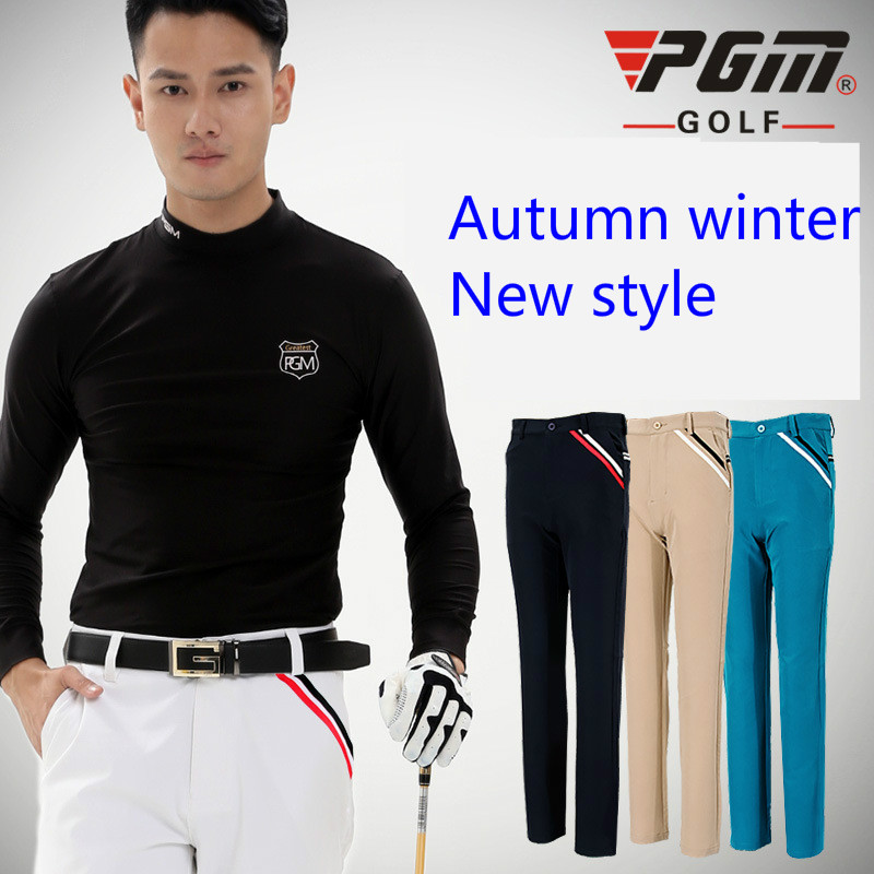 PGM Golf apparel golf pants men's autumn style high elastic trousers quick dry thin men's trousers plus size цена
