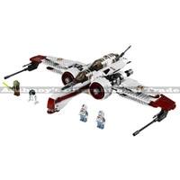 420PCS LELE 35004 Star Wars 8088 Arc 170 Starfighter Blocks Free Shipping