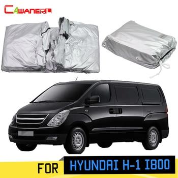 Cawanerl For Hyundai H-1 i800 Grand Starex Car Cover Sun Shade Anti-UV Rain Snow Scratch Resistant MPV Cover Windproof