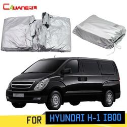 Cawanerl Per Hyundai H-1 i800 Gran Starex Car Cover Parasole Anti-Uv Pioggia Neve Resistente Ai Graffi MPV Copertura Antivento