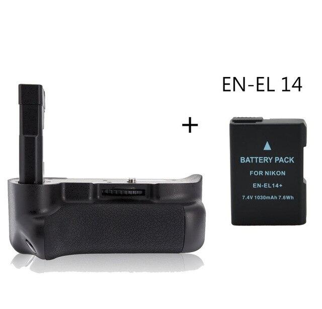MeiKe MK-D3100 <font><b>Battery</b></font> <font><b>Grip</b></font> Holder for <font><b>Nikon</b></font> D3100 <font><b>D3200</b></font> + EN-EL 14 <font><b>battery</b></font>
