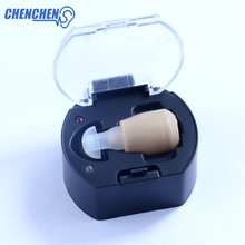 цена Convenient Hearing AID Mini Portable In-ear Ear AIDS Adjustable Sound Amplifier for Hearing Loss Elderly Enhancer Ear Care Kit