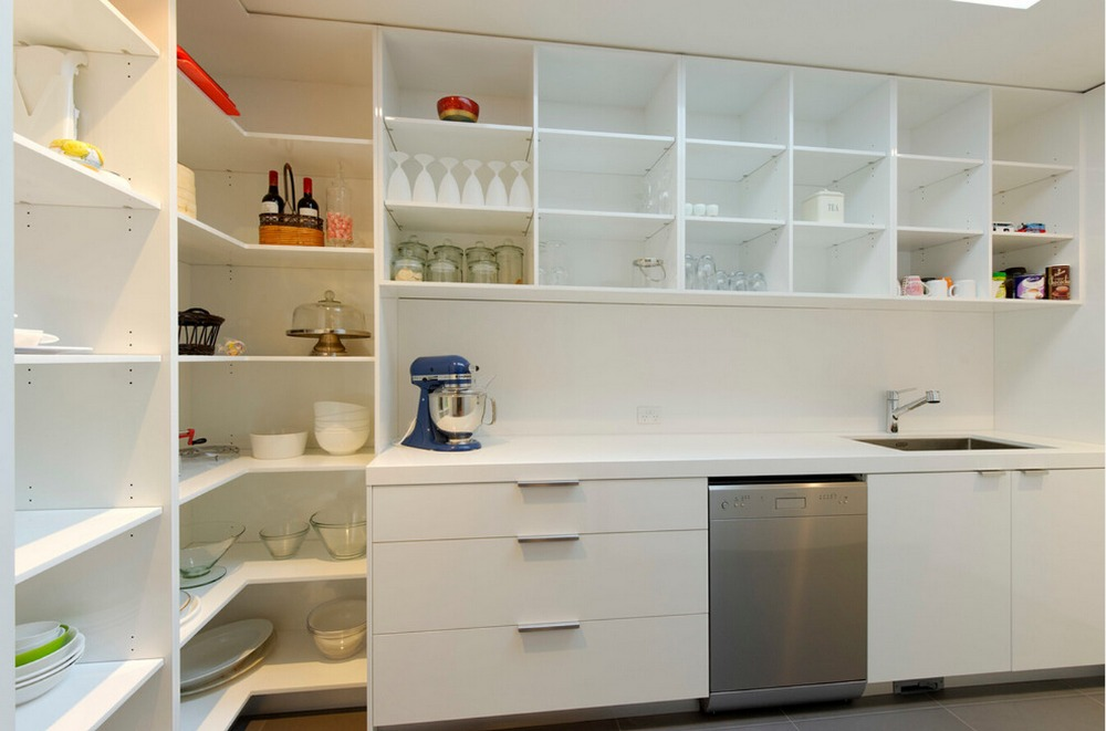 2017 antique design customized modular kitchen cabinets modern high gloss white lacquer kitchen furnitures l1606029 - Customized Kitchen Cabinets
