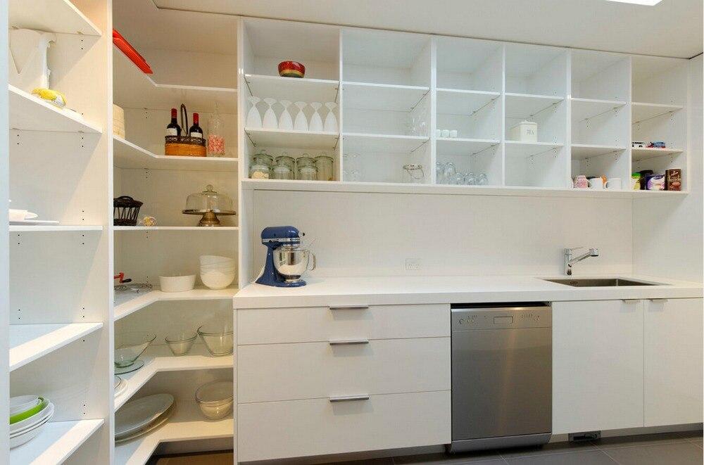 antiguo diseo modular gabinetes de la cocina moderna de alto brillo lacado blanco muebles