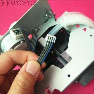 Image 2 - Orijinal yeni Epson DX5 mürekkep pompası meclisi stylus Pro 7880 9880 9800 Mtuoh RJ 900 VJ 1604 baskı kafası temiz ünite su çözücü