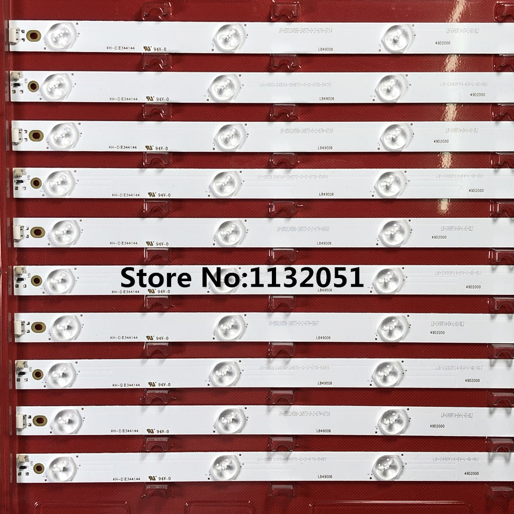 <font><b>LED</b></font> Backlight strip For Phili ps 49