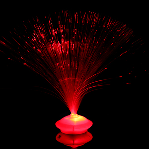 Image 5 - 8 patterns of gradient color LED fiber optic night light indoor decoration childrens holiday gift