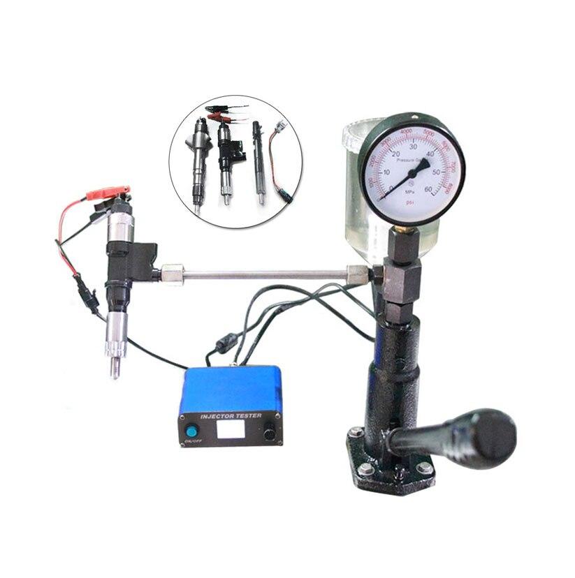 Erikc diesel comum trilho injector tester cri800 multifunções usb máquina de teste e s60h piezo cr injector bico testador