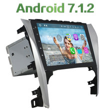 "Android 7.1.2 Quad Core 2 Din 10.1"" 2GB RAM LCD Touch screen car radio player support BLUETOOTH for Toyota Camry 2012 2013"