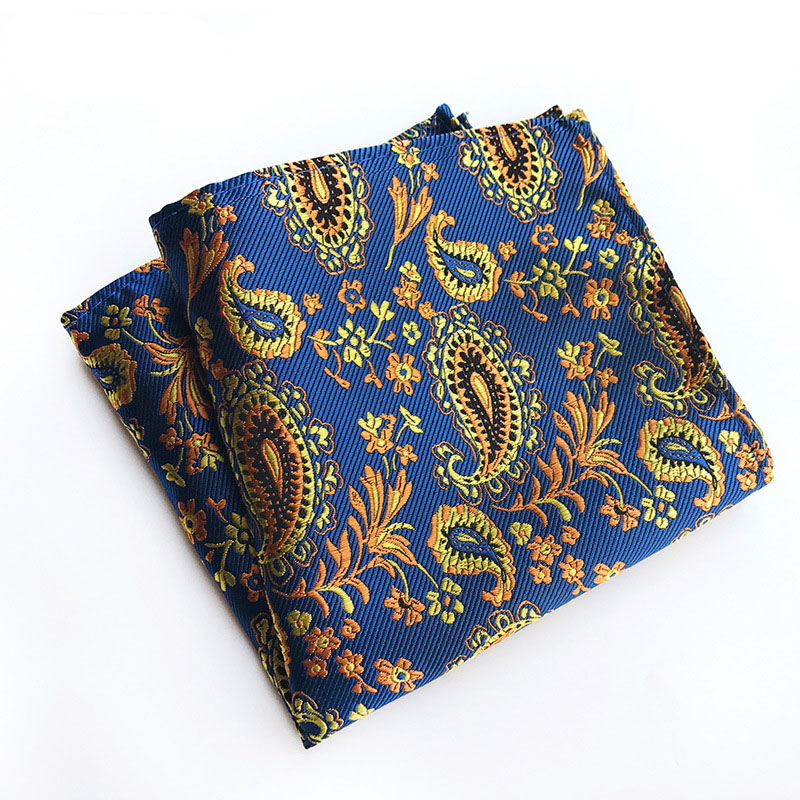 European And American Popular Polyester Material Fashionable Men's Square Towel  FY18062901