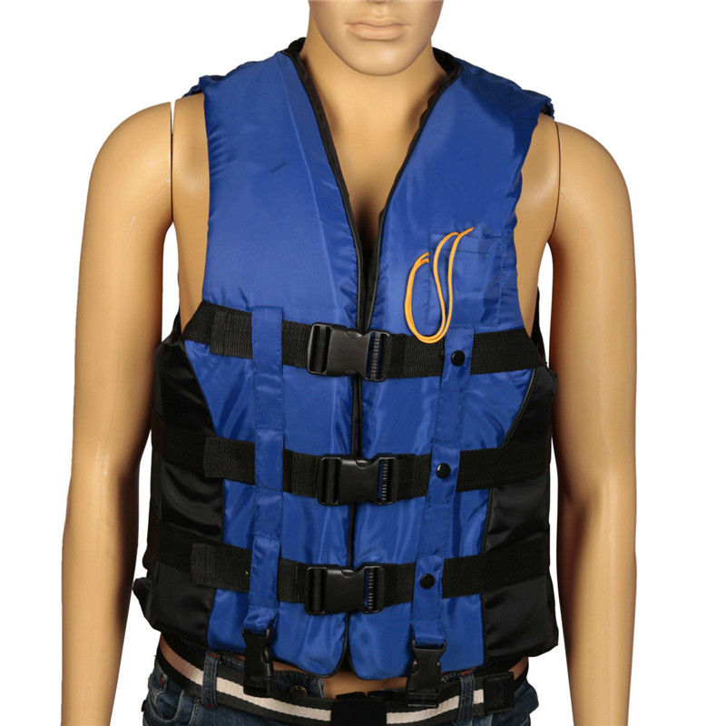 M EPE Adult Swimming Boating Surfing Sailing Polyester Foam Life Jacket Vest Whistle Prevention Flood With Stride Across Zone neoprene surfing floating life vest rafting snorkeling pfd inflatable kids women men life jacket swimwear swimming jacket life