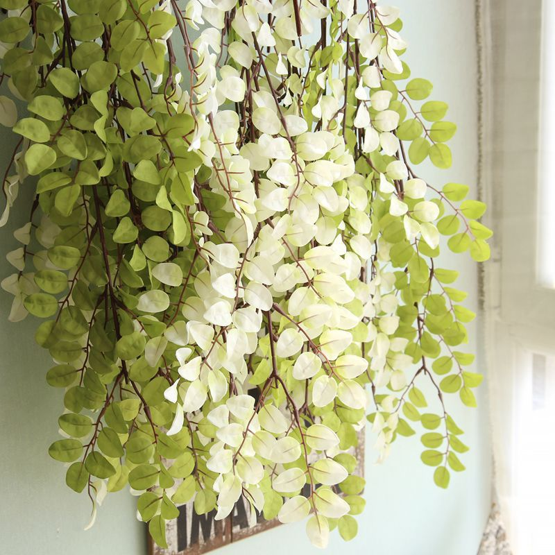 110 Cm Long Artificial Tree Leaves Branch Plants Real