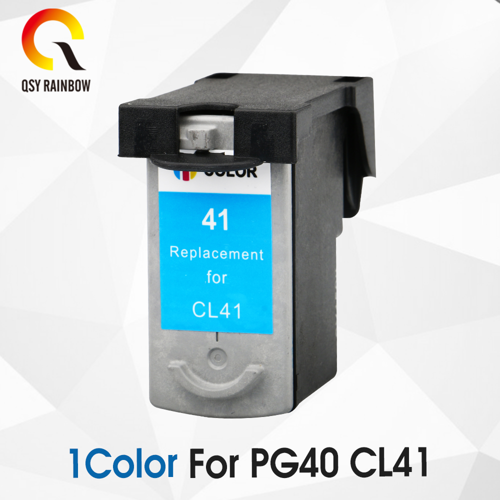 все цены на 1COLOR PG-40 CL-41 Compatible Ink Cartridge PG40 For Canon Pixma MP140 MP150 MP160 MP180 MP190 MP210 MP220 MP450 MP470 printer онлайн
