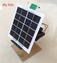 פנל סולארי כוח דור מעקב בקר נייד טלפון מטען אלקטרוני DIY טכנולוגיית ייצור קטן