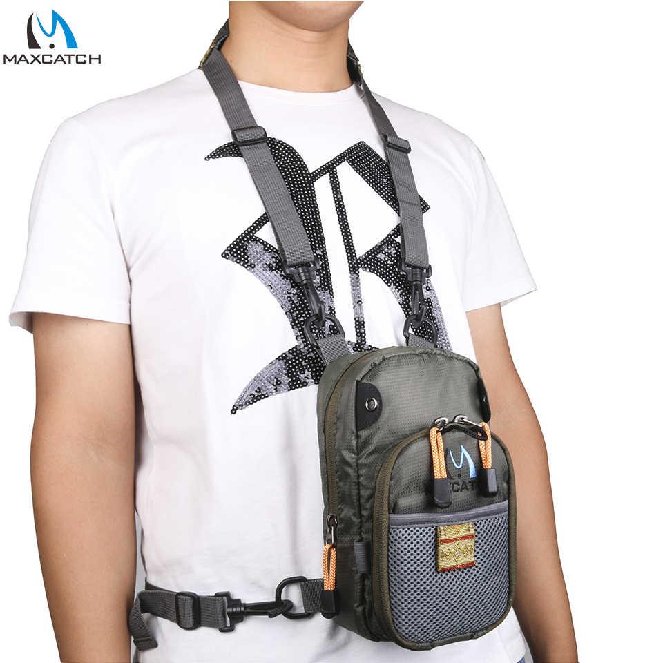Maximumcatch сумка для ловли нахлыстом рыболовный нагрудный рюкзак с Аксессуары для рыбалки