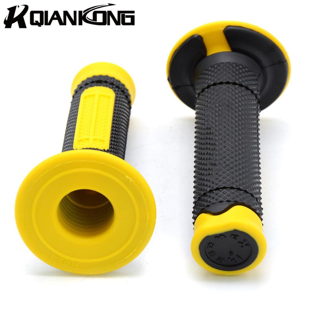 with 22mm 7/8 handle grips to fit most street bikes and sport bike p For Kawasaki KX60 KX65 KX80 KX85 KZ1000P KX250F KX