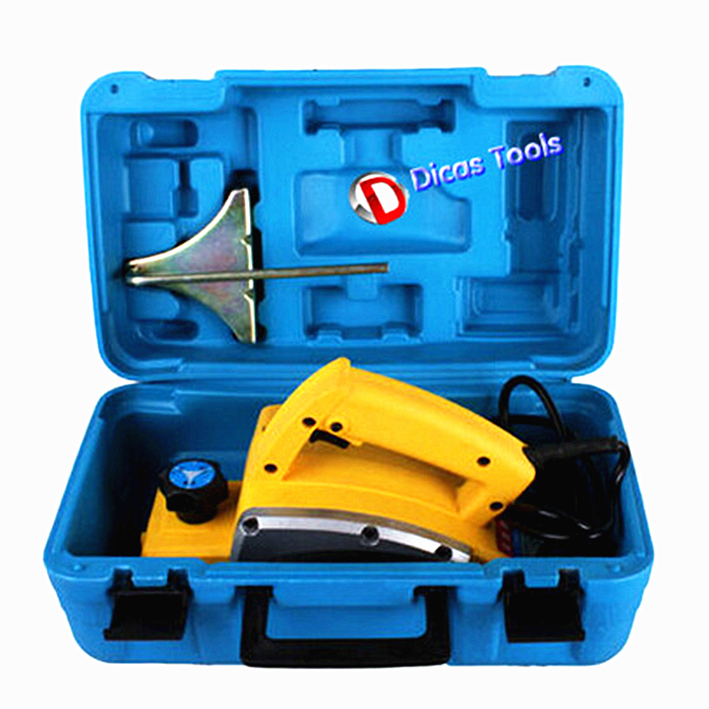 650w aluminium shell electric planer plastic case pack wood working electric hand shaper power tools furniture home decoration цена и фото