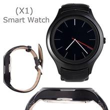 Waterfroof Kreis K18 3G Android-Handy Smart Uhr X1 smartwatch 1,3 zoll IPS Android 4.4 IOS mit GPS WIFI SIM Herzfrequenz 4G ROM
