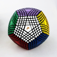 MF8 Stress Reliever Puzzle Cube Game Strange Shape Brain Teaser Geometry Educational Speed Square Magic Cube