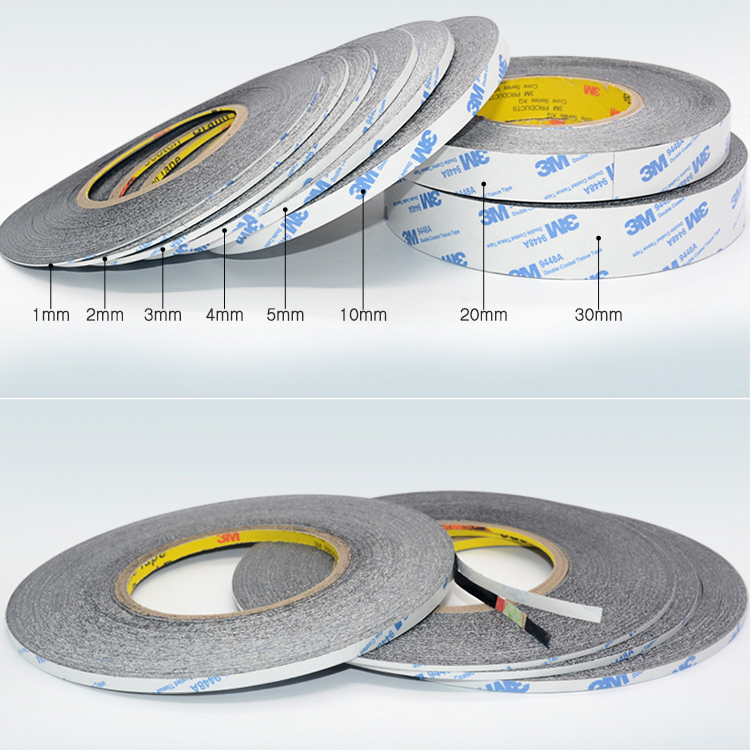 1pcs 15MM * 50M 3M Double Sided Adhesive Sticky Tape for LED Strip LCD Case Клейкая лента