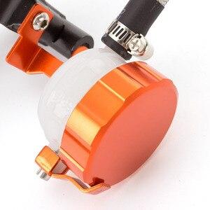Image 5 - Orange Adjustable Universal Motorcycle Hydraulic Clutch Brake Pump Master Cylinder Set For 7/8 Handlebar 125cc   400cc Racing