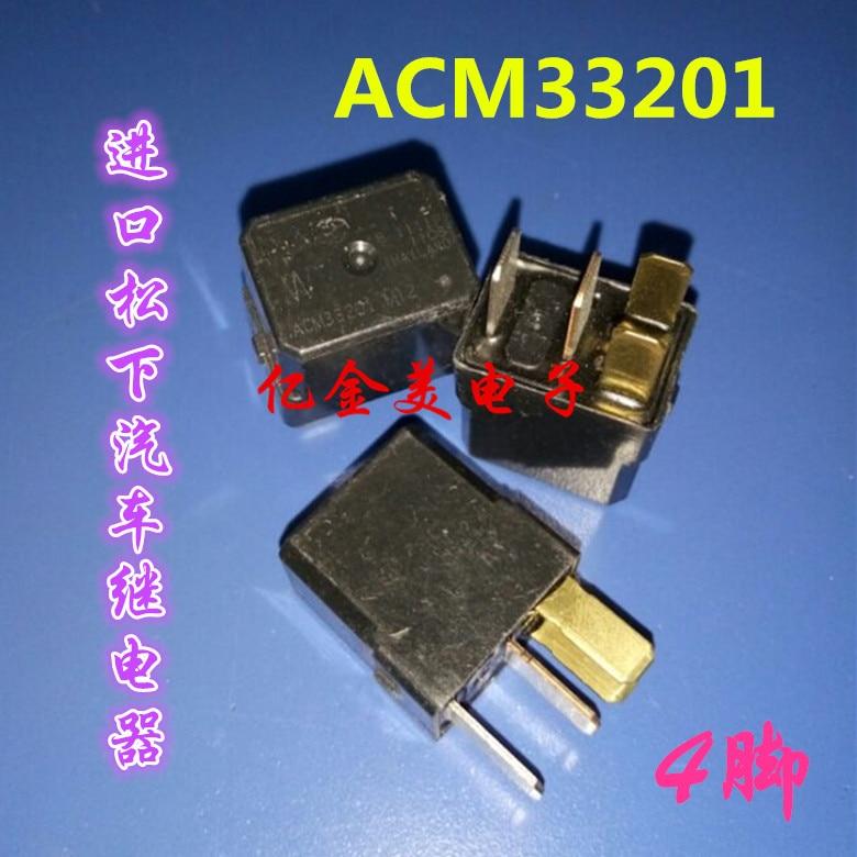 ACM33201 M35 M12 M08 реле 4-контактный 12VDC автомобильные реле