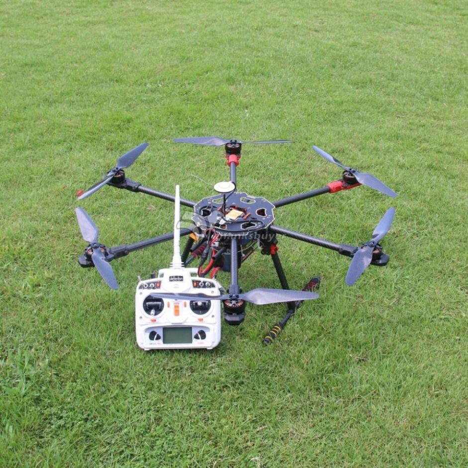 Tarot 680Pro ARTF Folding Hexacopter TL68P00 Naza V2 Devo 10